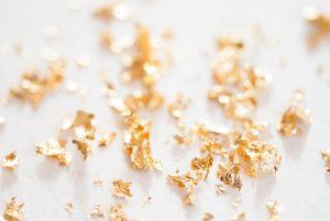 gold foil flakes